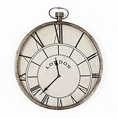 Graham & Brown - Metallic Pocket Watch Clock Metal Art