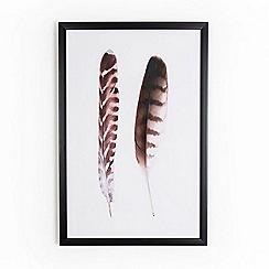 Graham & Brown - Bird Feather Nature Duo Framed Print Wall Art
