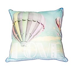 Graham & Brown - Green Air Balloon Cushion