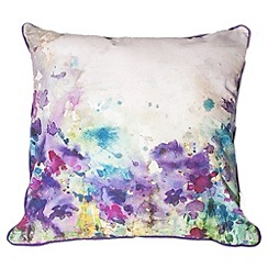 Graham & Brown - Purple Meadow Cushion