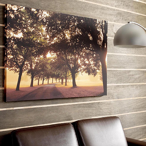 Graham & Brown - Printed canvas morning walk wall art
