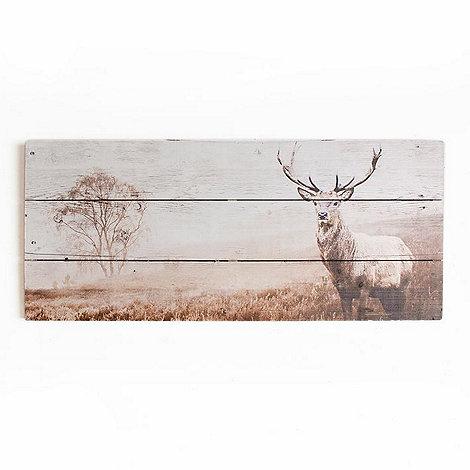 graham u0026 brown animal stag wooden print wall art
