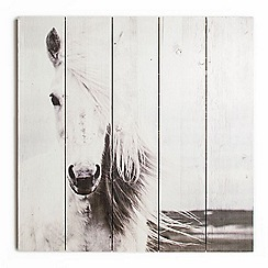 Graham & Brown - Horse Wooden Print Wall Art