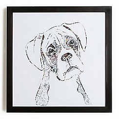 Graham & Brown - Boxer Dog Framed Print Wall Art