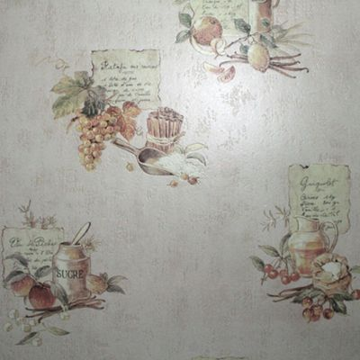 Contour Beige Cuisine Wallpaper - . -