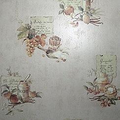 Contour - Beige Cuisine Wallpaper