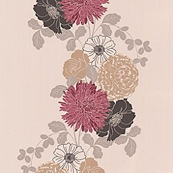 Graham & Brown - Ruby Adore wallpaper