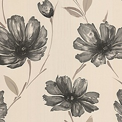 Graham & Brown - Charcoal Spirit wallpaper