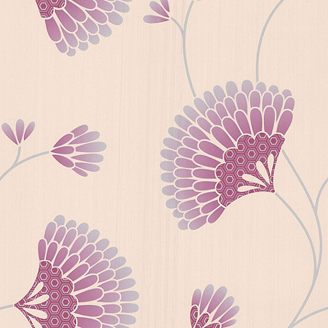 Graham & Brown - Pink Charm wallpaper