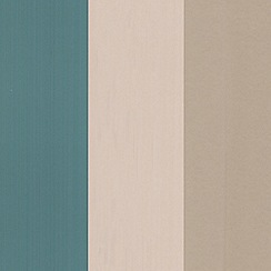 Graham & Brown - Teal/gold Figaro wallpaper