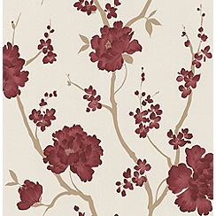 Laurence Llewelyn-Bowen - Red Love Letter wallpaper