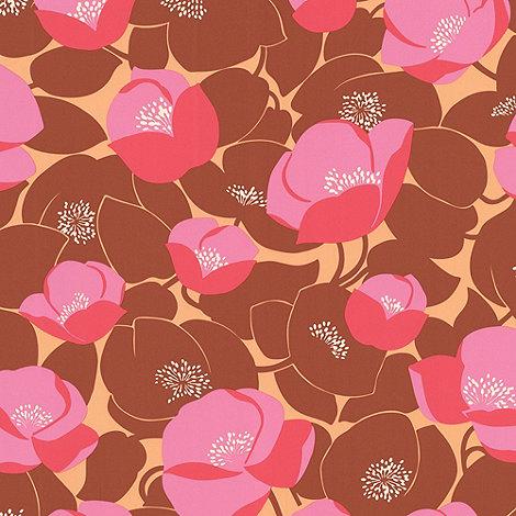 Amy Butler - Sunset Field Poppies wallpaper