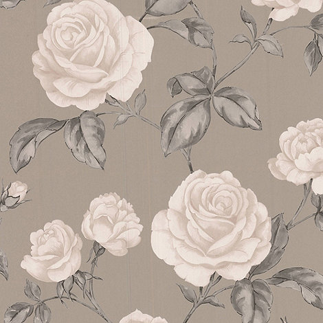 Graham & Brown - Taupe Countess wallpaper