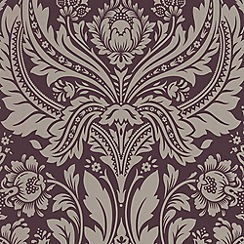 Graham & Brown - Damson Desire wallpaper