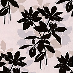 Laurence Llewelyn-Bowen - Natural Velvet Undergrowth flock wallpaper