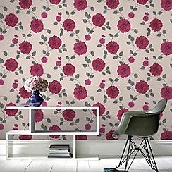 Fresco - Fuchsia CharlotteWallpaper