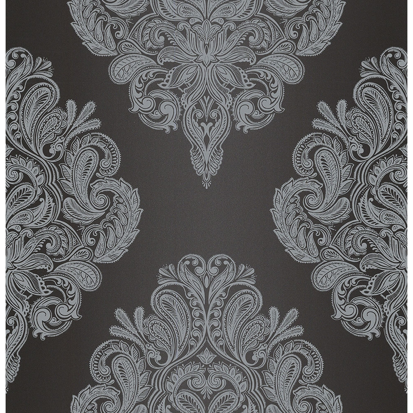 Laurence Llewelyn Bowen Black LLB Cote Couture Wallpaper