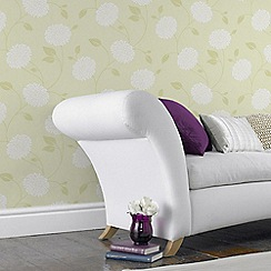 Fresco - Yellow Floral Bronte Wallpaper
