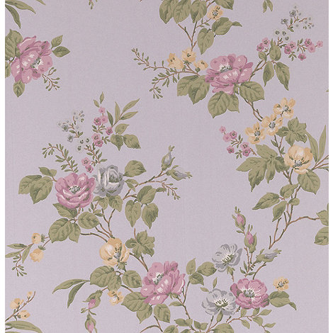 Graham & Brown - Heather Cottage Garden Wallpaper