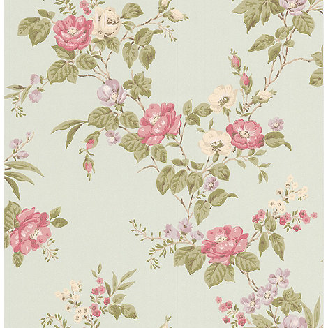 Graham & Brown - Duckegg Cottage Garden Wallpaper
