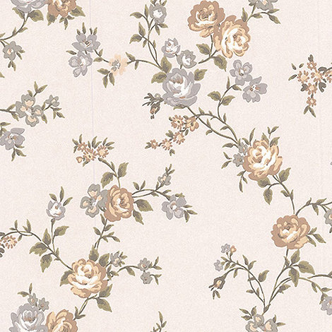 Graham & Brown - Pink Rose Cottage Wallpaper