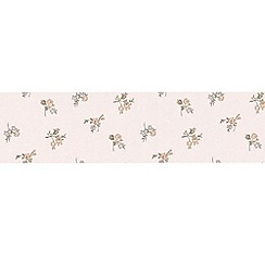 Graham & Brown - Green Rosebud Wallpaper