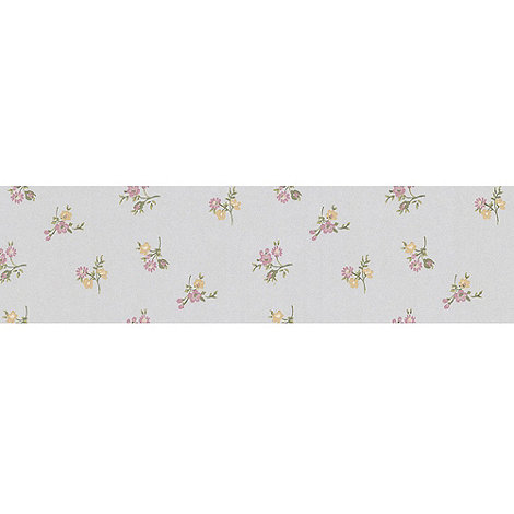 Graham & Brown - Yellow Rosebud Wallpaper
