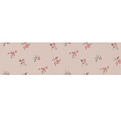 Graham & Brown - Raspberry Rosebud Wallpaper