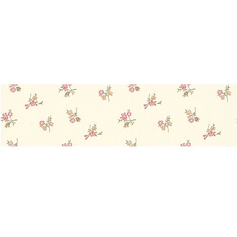 Graham & Brown - Pink Rosebud Wallpaper