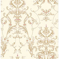 Graham & Brown - Beige Bewitched Wallpaper
