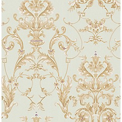 Graham & Brown - Duckegg Bewitched Wallpaper