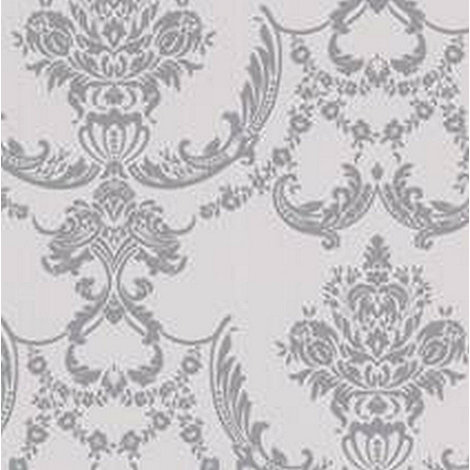 Graham & Brown - Silver Palais Wallpaper