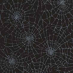 Graham & Brown - Moonlight Cobweb Wallpaper