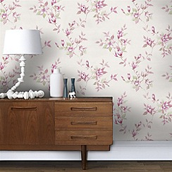 Fresco - Petal Pink Clemmie Wallpaper