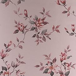Fresco - Rose Red Clemmie Wallpaper