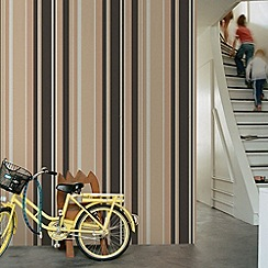 Fresco - Neutral Rico Stripe Wallpaper