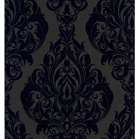 Laurence Llewelyn-Bowen - Blue Kinky Vintage Rhythm Wallpaper