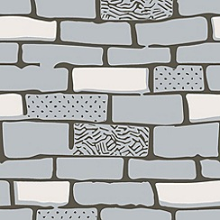 Hemmingway Designs - Stone The Wall Wallpaper