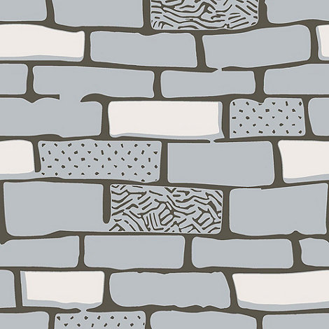 Graham & Brown - Stone The Wall Wallpaper