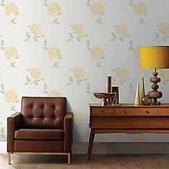 Fresco - Yellow Mia Wallpaper