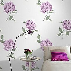 Fresco - Plum Mia Wallpaper