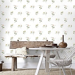 Fresco - Yellow Darling Buds Wallpaper
