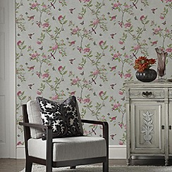 Graham & Brown - Parchment Chinoiserie Wallpaper