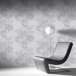 Laurence Llewelyn-Bowen - Pearl Cascada Wallpaper