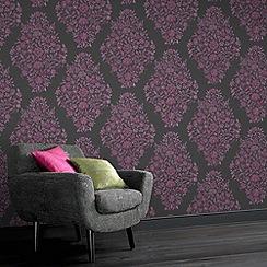Laurence Llewelyn-Bowen - Fuchsia Floribunda Wallpaper