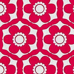 Barbara Hulanicki - Candy Pink Funky Flora Wallpaper