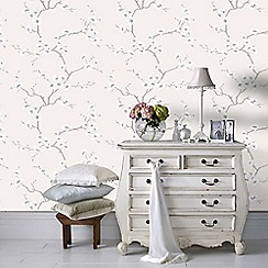 Fresco - Natural Apple Blossom Tree Wallpaper
