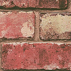 Hemmingway Designs - Red Brick Wallpaper