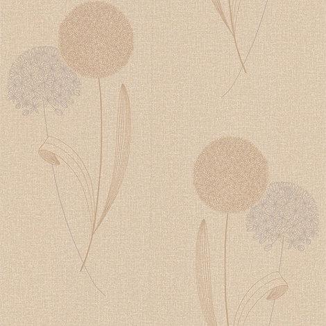 Graham & Brown - Sand Alium wallpaper