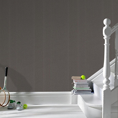 Graham & Brown - Charcoal Sanctuary Plain wallpaper